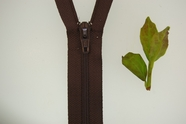 "6"" Brown Zipper"