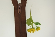 "7"" Brown Zipper"