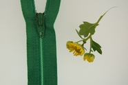 "7"" Green Zipper"
