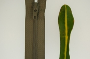 "7"" Sage Green Zipper"