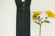 "8"" Dark Green Zipper"