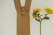 "8"" Light Beige Zipper"