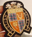 Authentic Scottish Spirit Embroidered Vintage Bullion Crest Patches