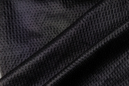 Black Mesh Sportwear Fabric # NV-94