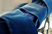 Blue French Velvet Ribbon 50mm