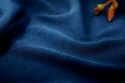 Dark Blue Washable Knit Fabric 10 yards