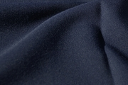 Dark Navy Blend Wool Gabardine Fabric WL-19