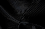 Extra Wide Black Tricot Fabric
