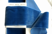 French Royal Wide Velvet Ribbon 72mm