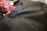 French Tricot Fusible Black Fabric Interfacing 16 yards