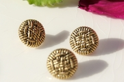 Rope Knots Vintage Shank Fashion Buttons 15mm (15 pcs)