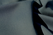 Gray Blue Pure Wool Gabardine Fabric WL-18