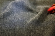 Heather Gray Matte Jersey Knit Fabric 20 yards