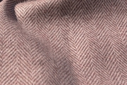 Herringbone Vintage Tea Rose Brown Wool Coating Fabric WL-23
