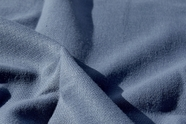 Linen Look Stone Blue Designer Fabric WL-2