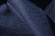 Navy Blend Wool Flannel Fabric WL-22