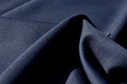 Navy Wool Blend Gabardine Fabric WL-190