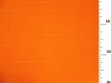 Orange Textured Woven Pure Cotton Fabric