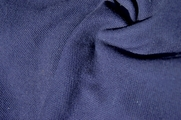 Polo Cotton Tubular Knit Navy Fabric