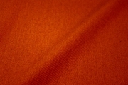 Red Orange Wool Blend Fabric