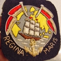 Regina Maris Embroidered Vintage Bullion Crest Patches