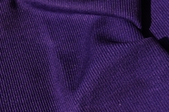 Dark Purple Ribbed Knit Fabric