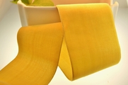 Rich Yellow French Velours Envers Mousseline Velvet Ribbon 56mm