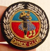 Royal Ballroom Dancing Vintage Bullion Crest Patches