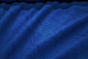 Royal Blue Cotton Velour Fabric # K-189