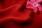 Ruby Red Crinkle Fabric 15 yards