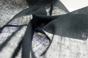Soft Coal Grey Cotton Gauze Fabric 11 yards