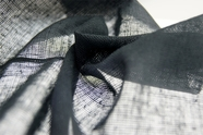 Soft Cotton Gauze Fabric Coal Grey 15 yards