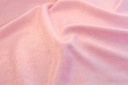 Soft Pink Velour Knit Fabric 14 yards