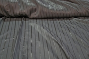 Tailor Grey Striped Twill Lining Fabric # K-238