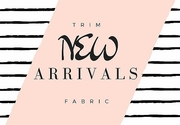 Trim Fabric New Arrivals