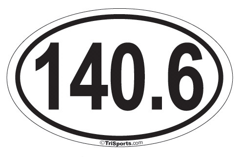 Image of 140.6 Iron-Distance Decal