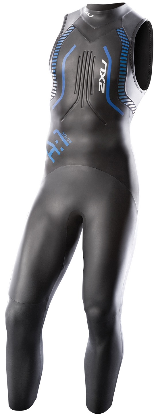 Image of 2XU Mens A:1 Active Sleeveless Wetsuit