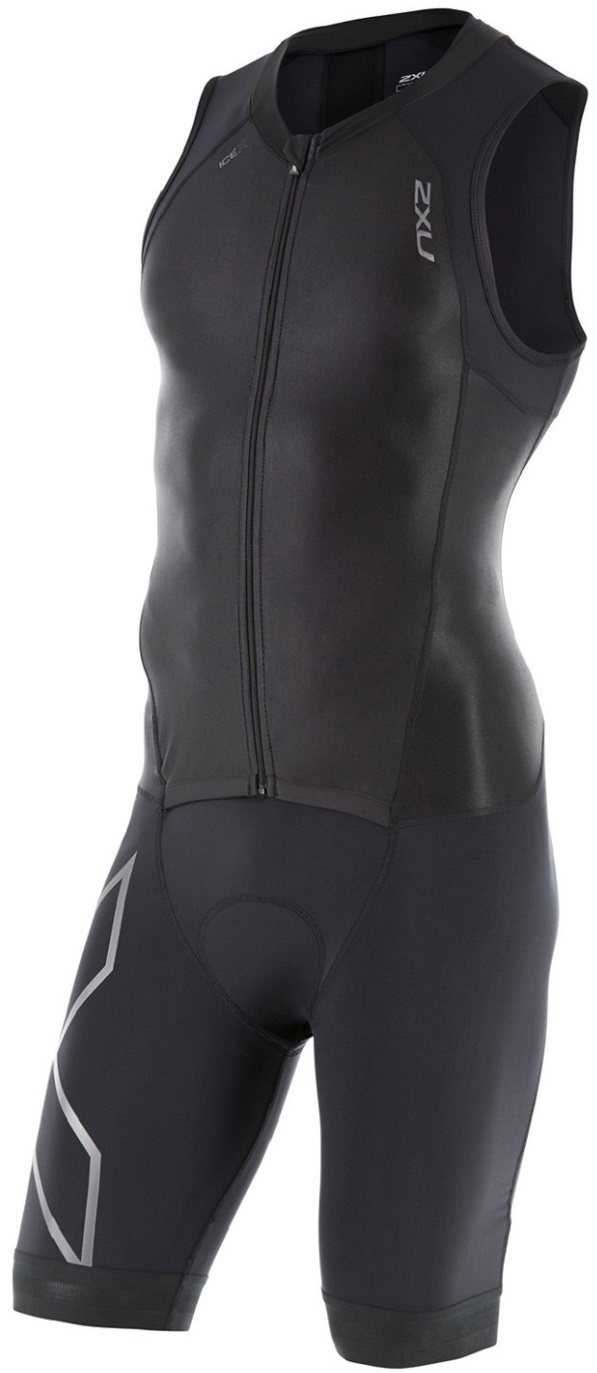 Image of 2XU Mens Compression Full-Zip Trisuit
