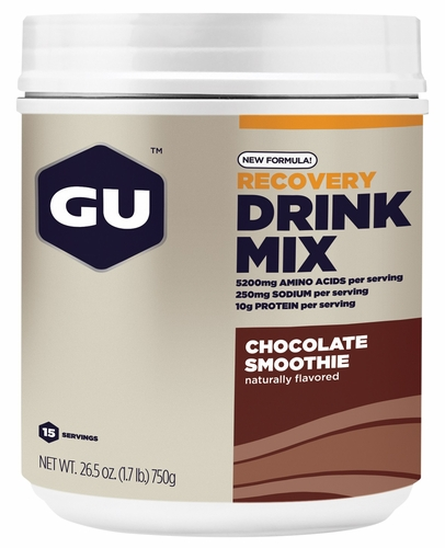 Tri Shot Mix : Gu recovery drink mix servings