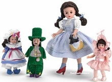 "10"" DOROTHY AND MUNCHKINLAND SET - click for actual photo"