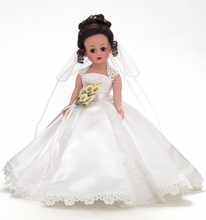 "10"" MY SPECIAL DAY - brunette bride"