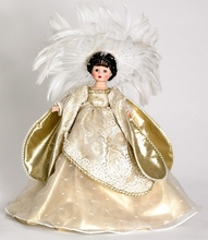 "10"" NORTHERN LIGHTS ANGEL TREETOPPER"