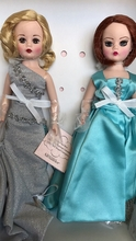 "10"" TURQUOISE AND SILVER - 2 doll set - LE100"