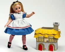 "12"" ALICE IN RABBIT'S HOUSE LISSY"