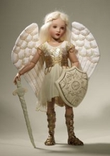 """14"""" WARRIOR ANGEL - Club Doll - click for actual photo"""