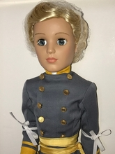 "21"" ASHLEY CONFEDERATE SOLDIER - MADCC - LE20"
