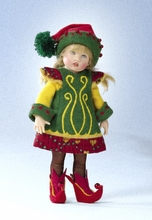 "7.5"" NORTH POLE RILEY DOLL"