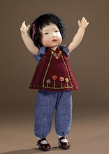 "8"" AN MEI BABY DOLL - click for actual photo"