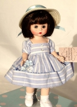 "8"" BLUE PARTY DRESS - MADCC"