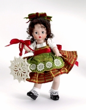 """8"""" CLASSIC TRIMMINGS WITH LENOX PORCELAIN WENDY"""